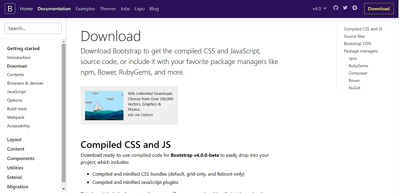 How to Install Bootstrap 4