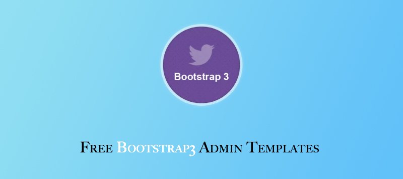 free bootstrap 3 admin template