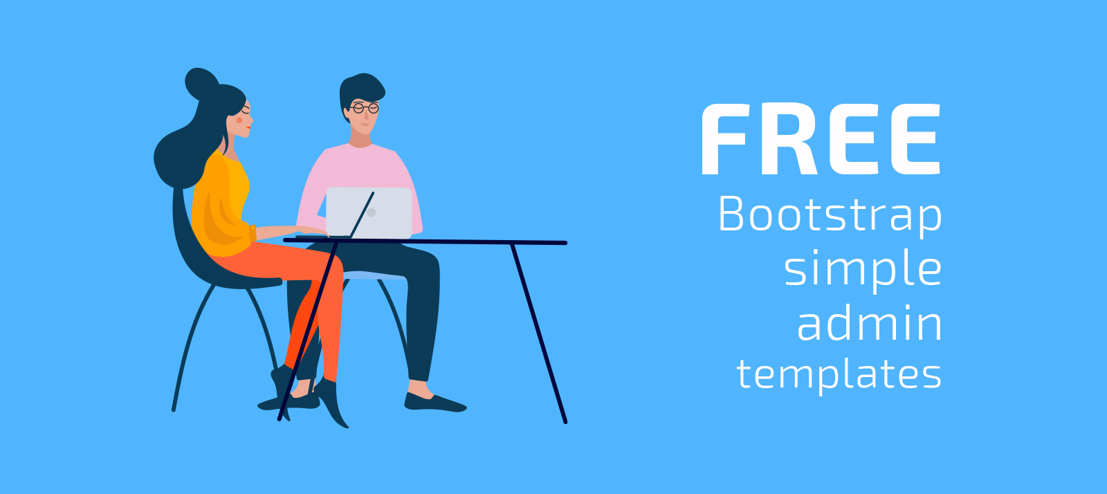 Top 15+ Free Bootstrap Simple Admin Templates 2020
