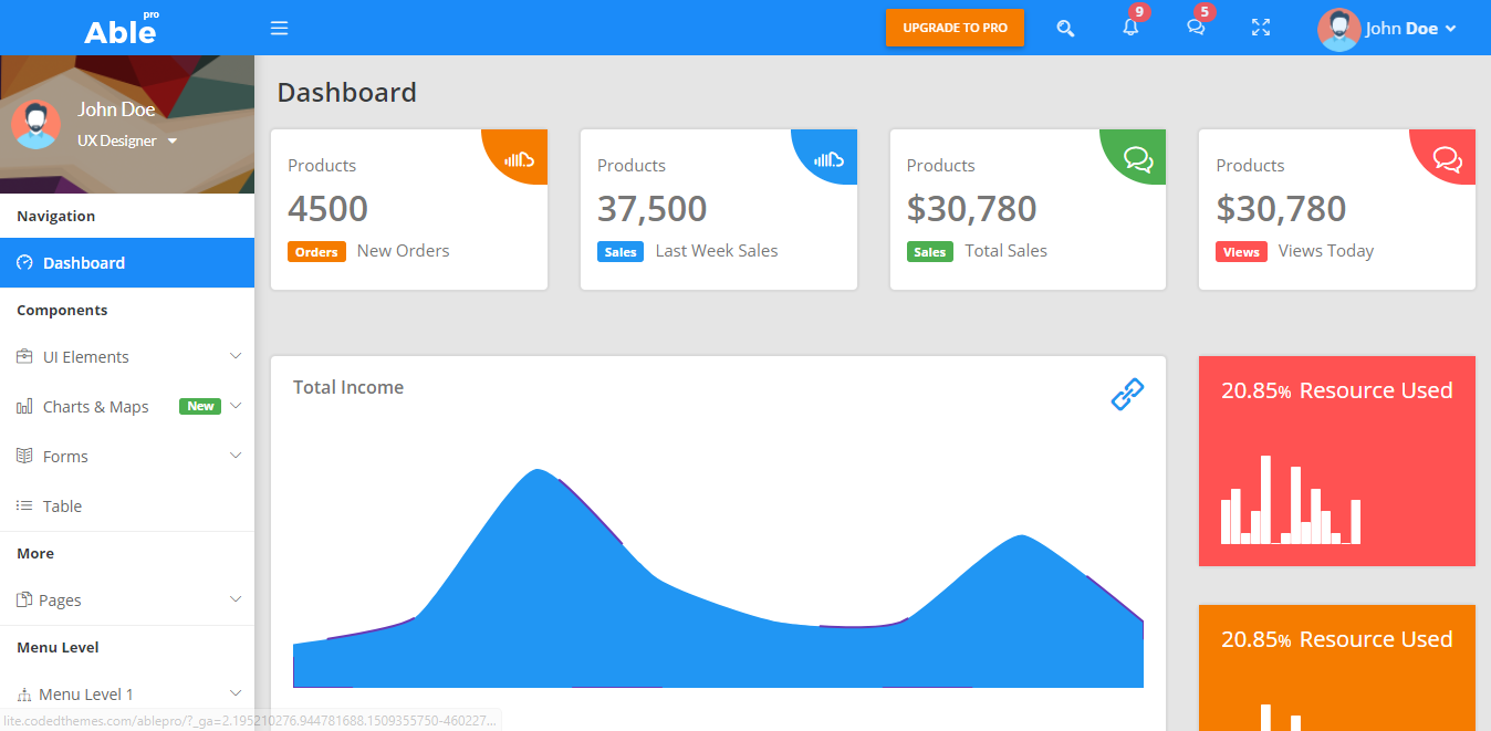 Best 13 Free Bootstrap 4 Admin Templates