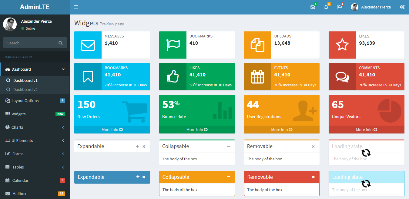 Best Free and Premium Responsive React Admin Templates