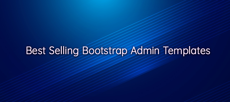 best selling bootstrap admin templates