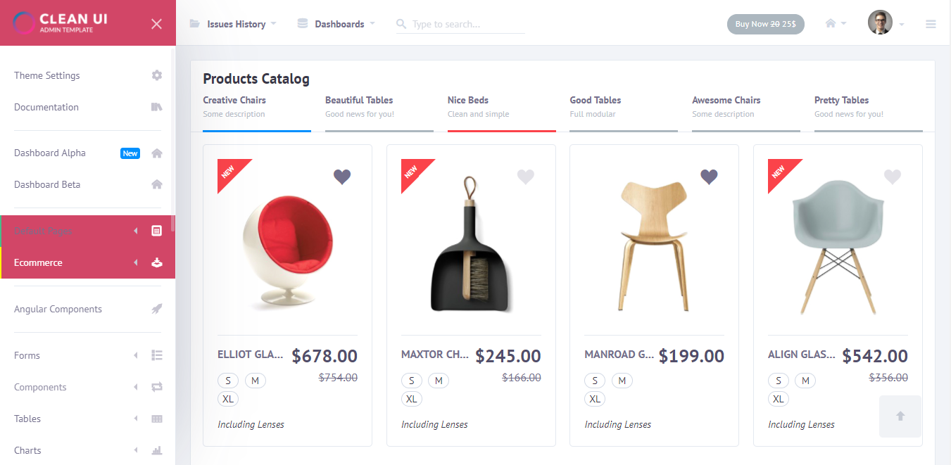 11 Best E-commerce Admin Panel Templates