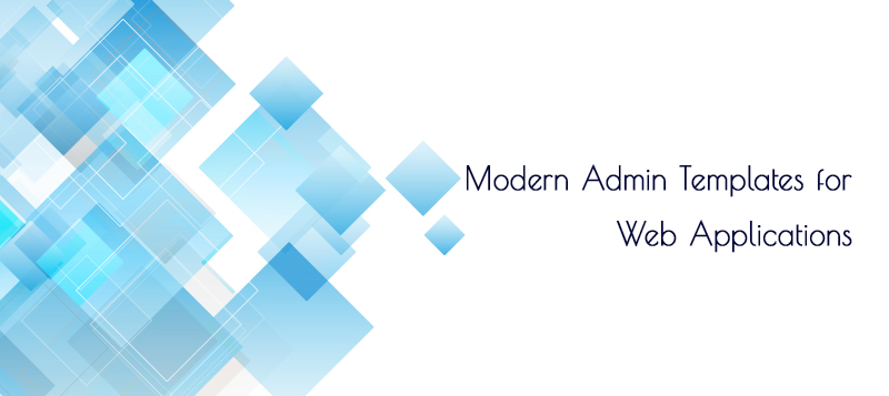 Modern Admin Templates for Web Applications