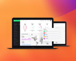 connect plus bootstrap admin template