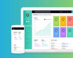 Xollo Bootstrap 4 Admin Template