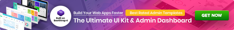 best bootstrap admin template ad