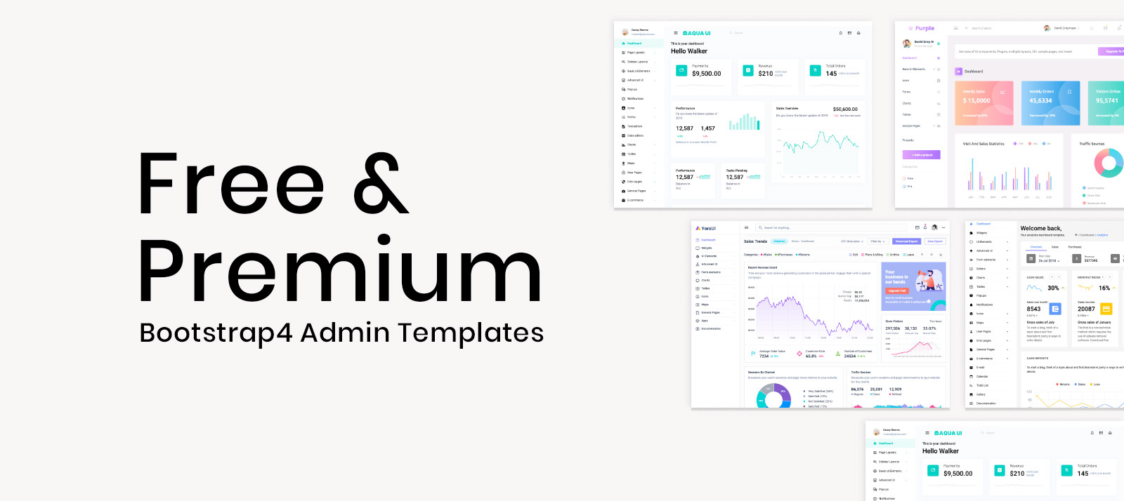 Best 30+ Free And Premium Bootstrap 4 Admin Templates of 2020