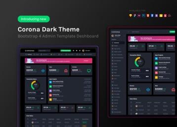 Vue Admin Templates | Vue Bootstrap Dashboard Templates