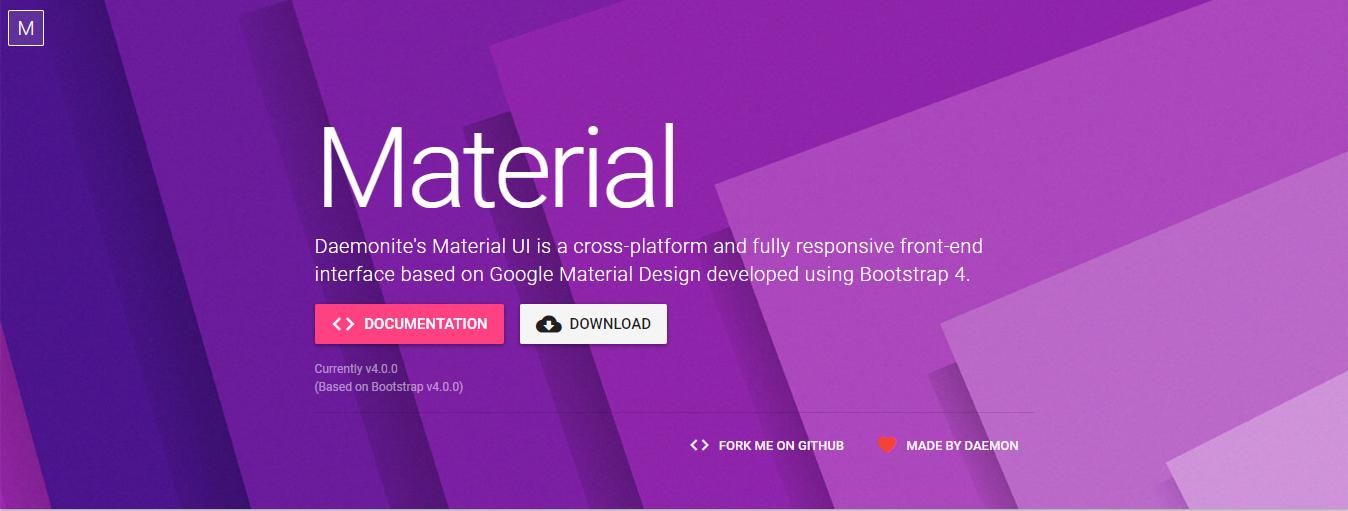 Material Design framework - Material