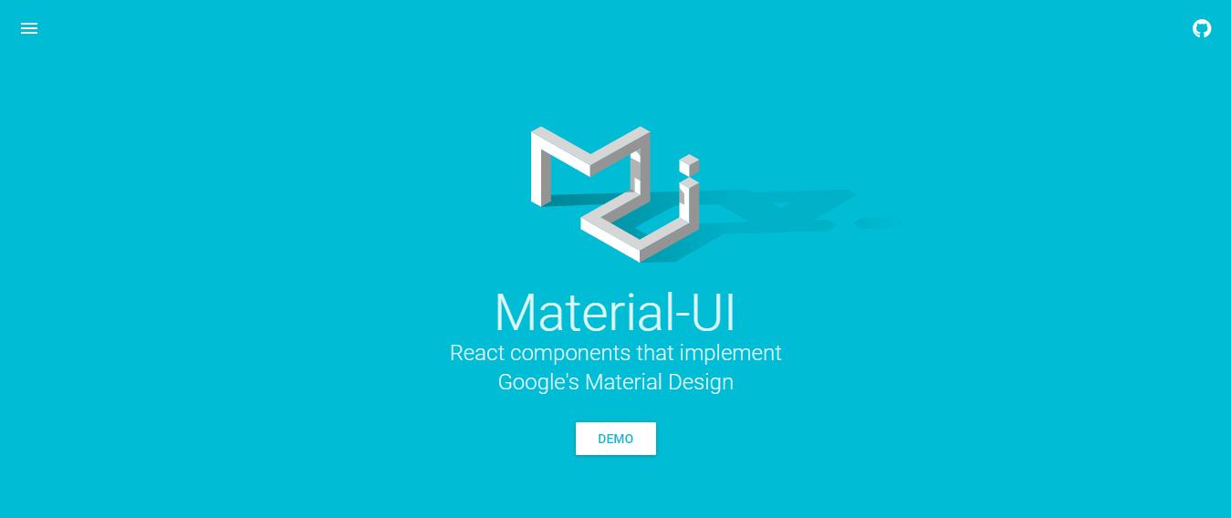 Material UI Material Design Framework
