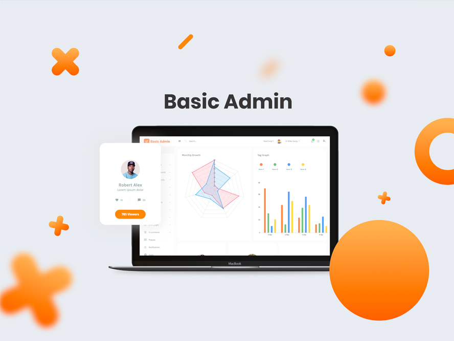 Basic Admin Template