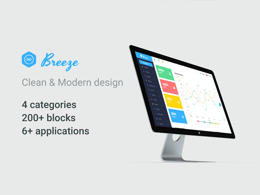 Breeze Admin Template