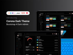 Dark Corona Template