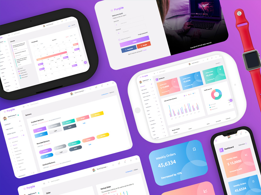 Purple Admin