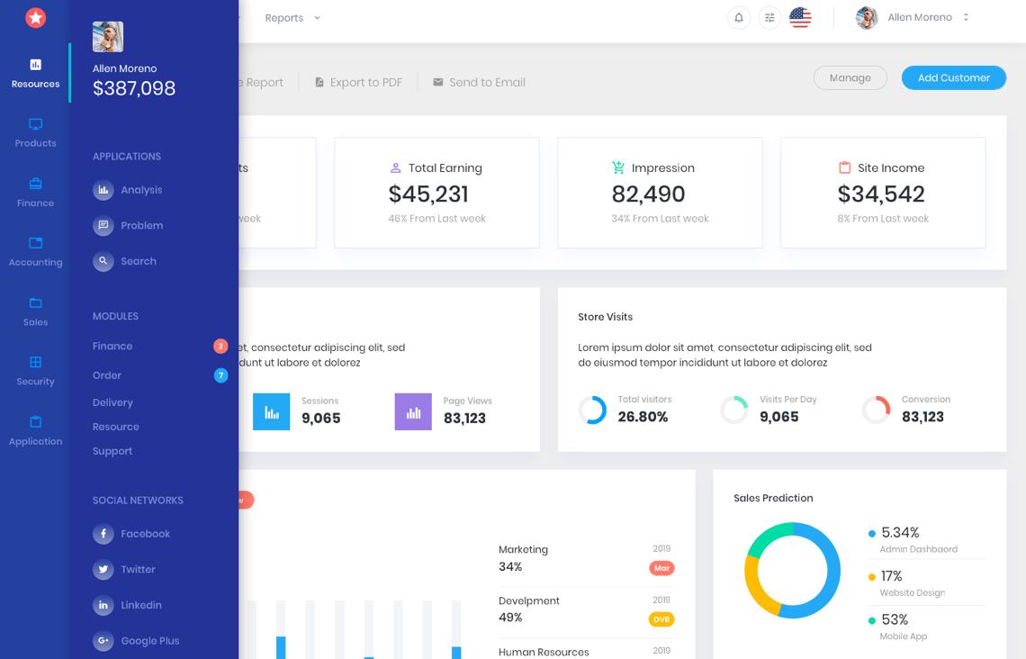 bootstrapdash layout - BootstrapDash