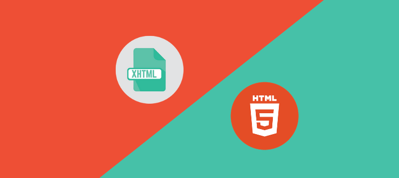 Striking Differences between XHTML and HTML5 – XHTML vs. HTML5