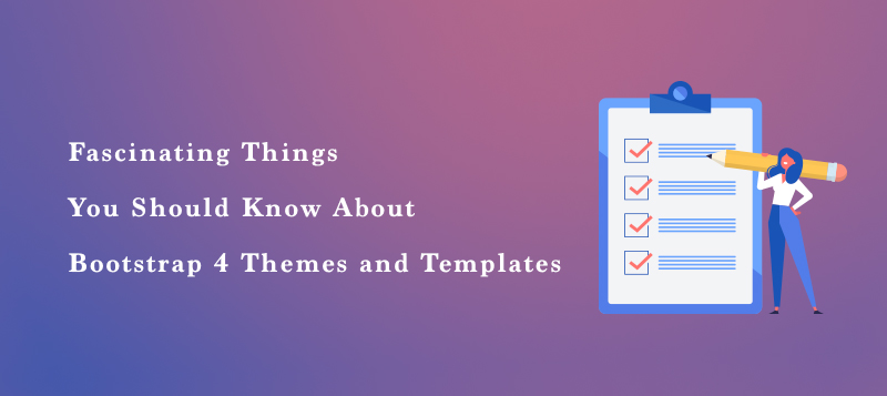 Bootstrap 4 themes and templates