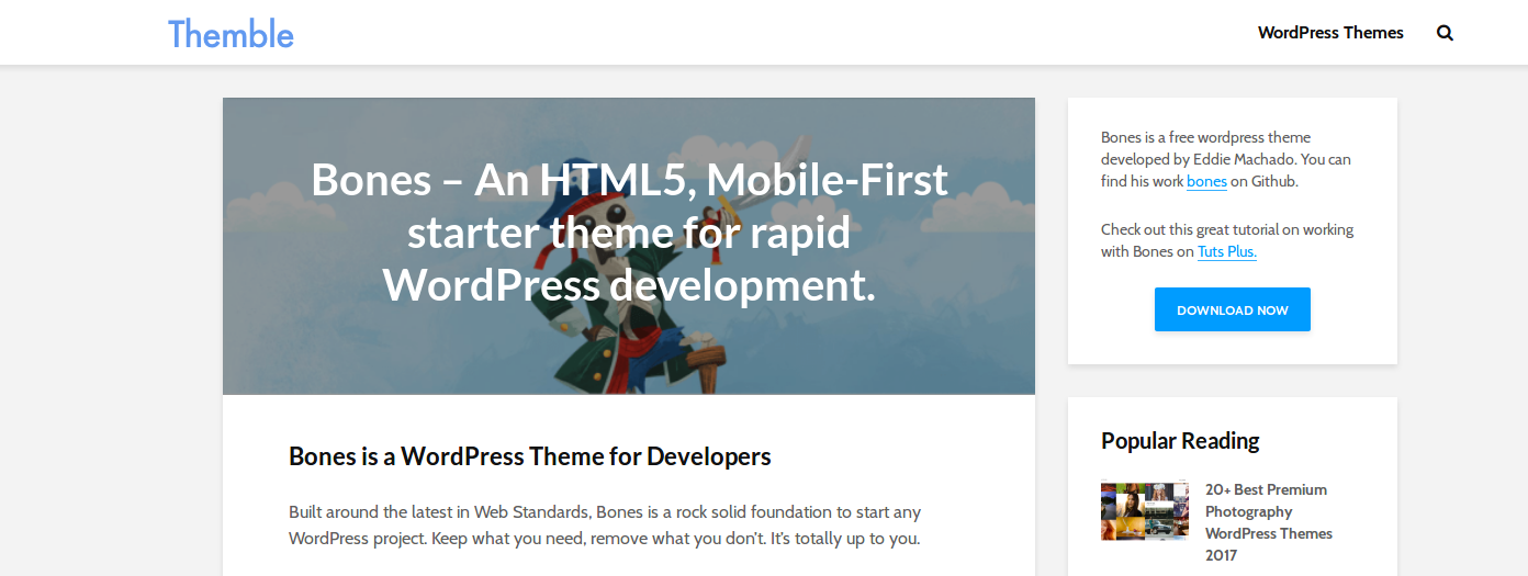 Top WordPress starter themes