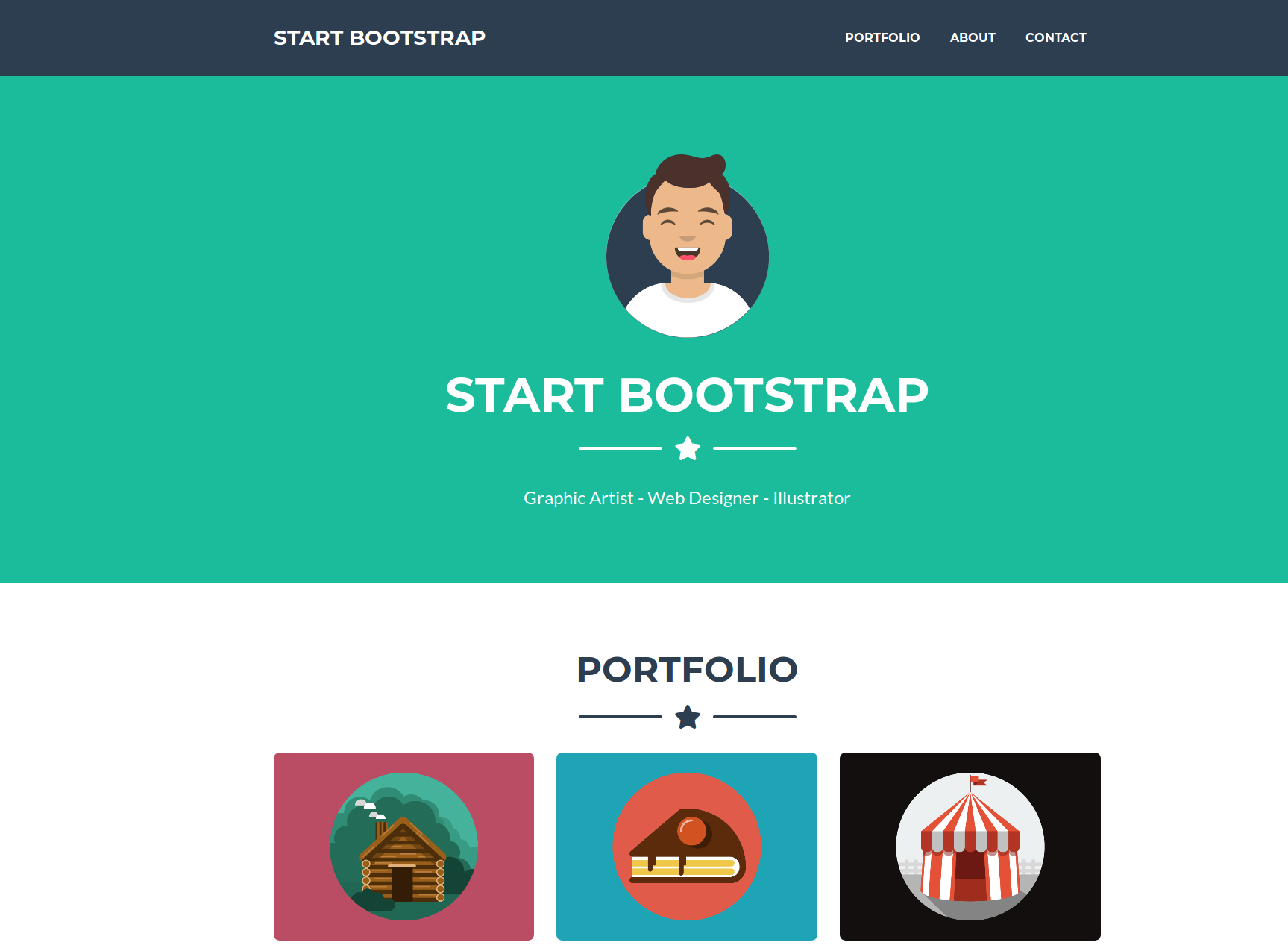 Freelancer start bootstrap