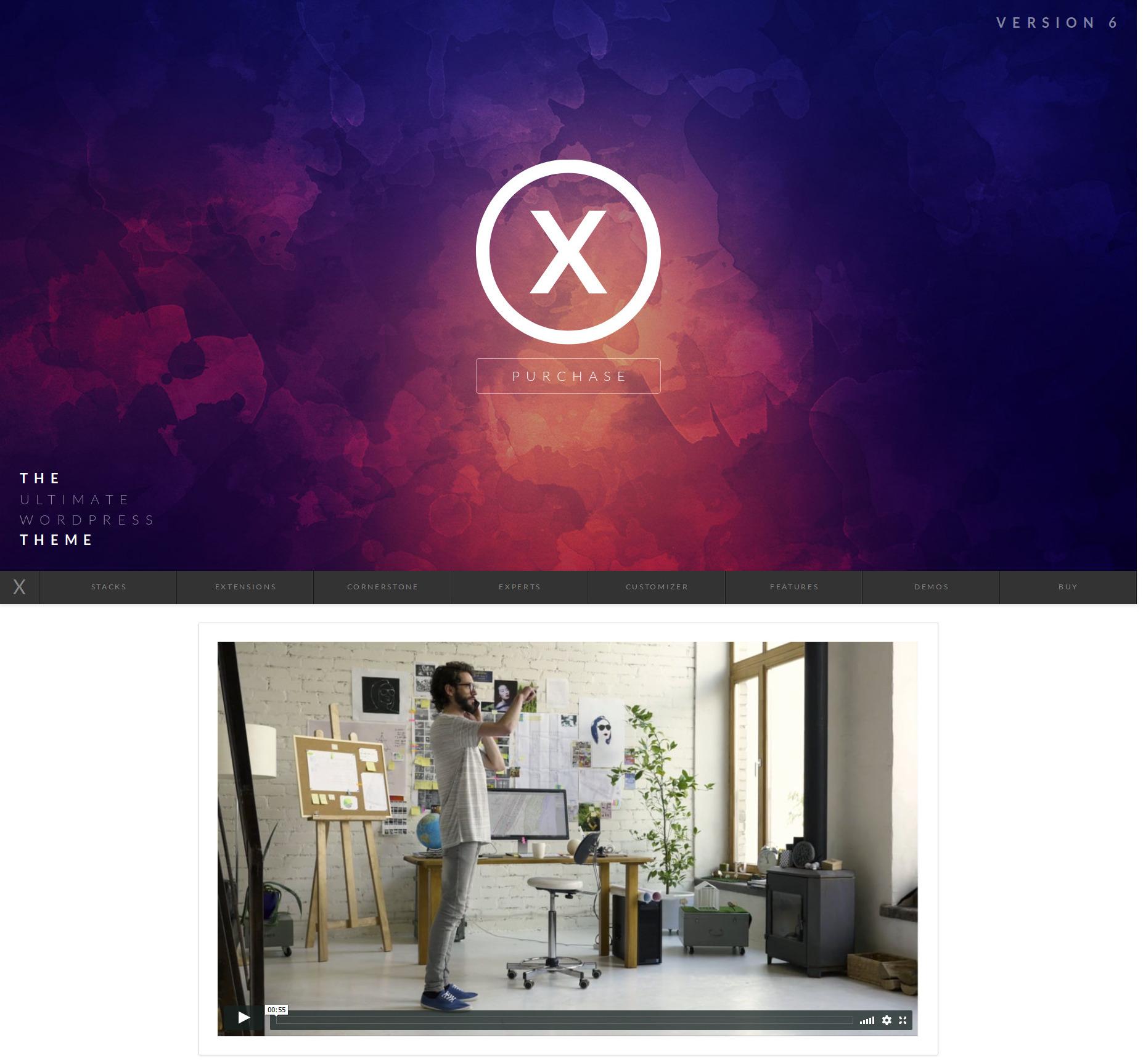 X themes