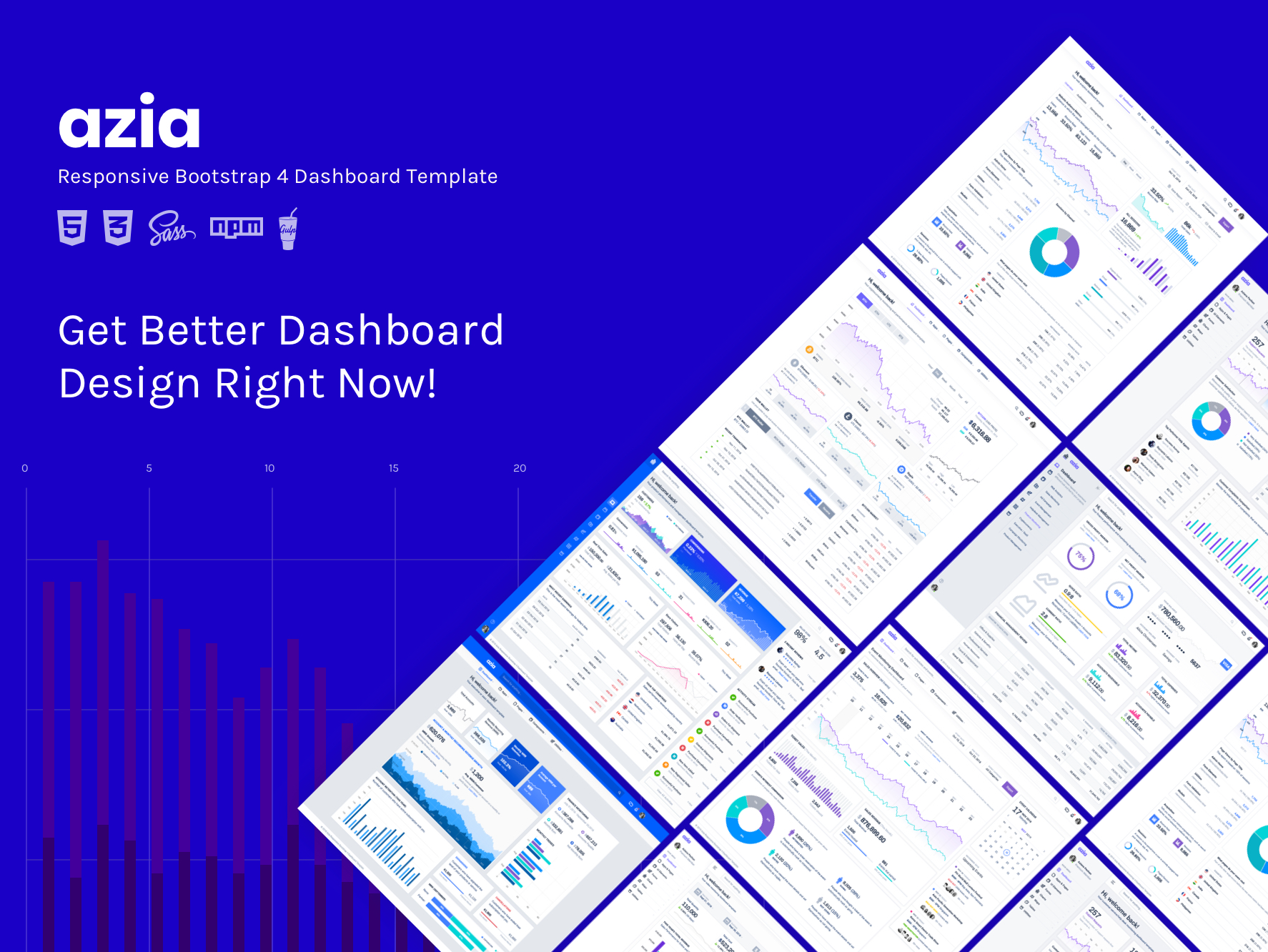 Azia dashboard