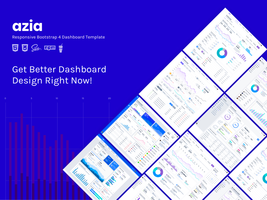 azia dashboard templates