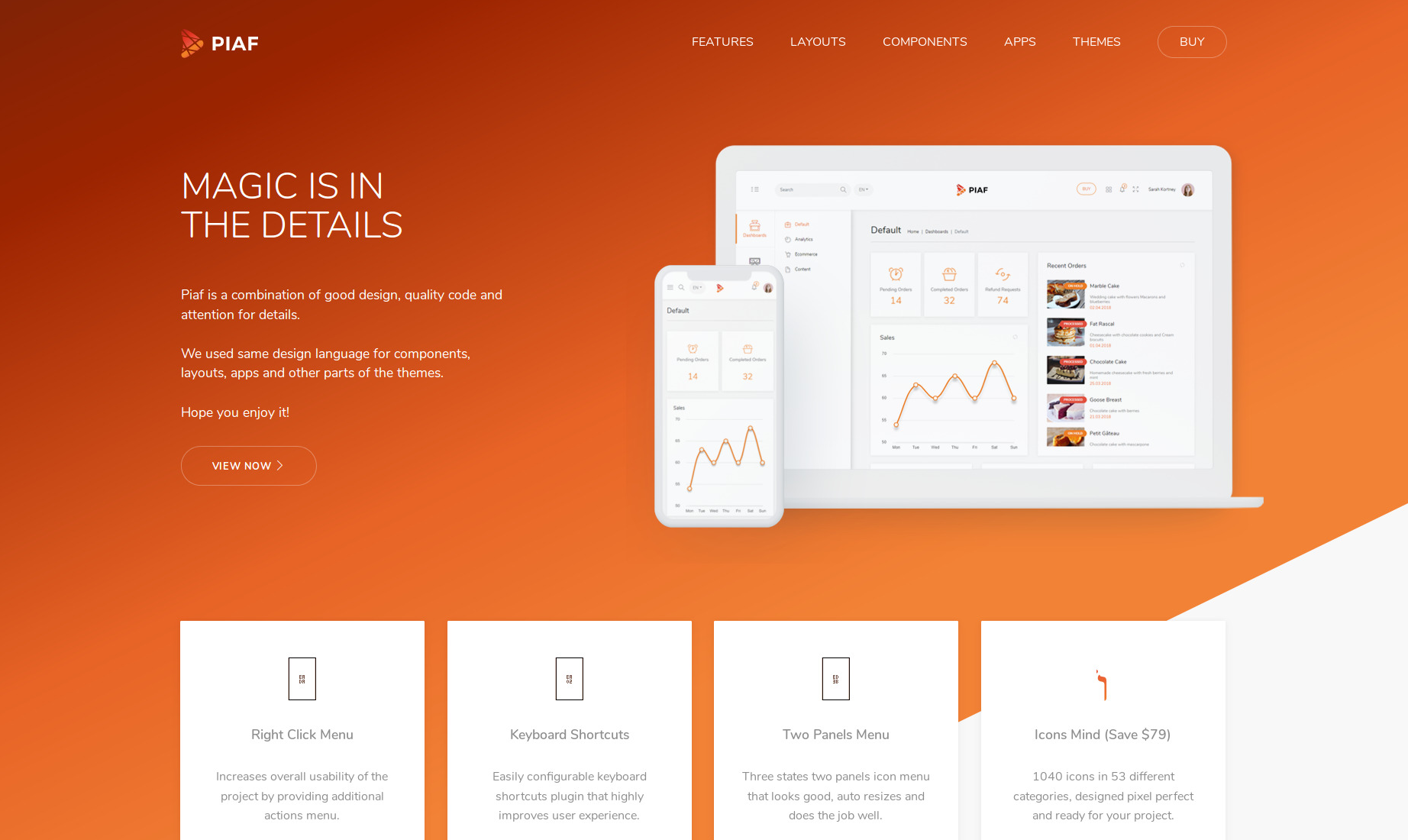 10+ Vue Admin Templates That You Must Check Out