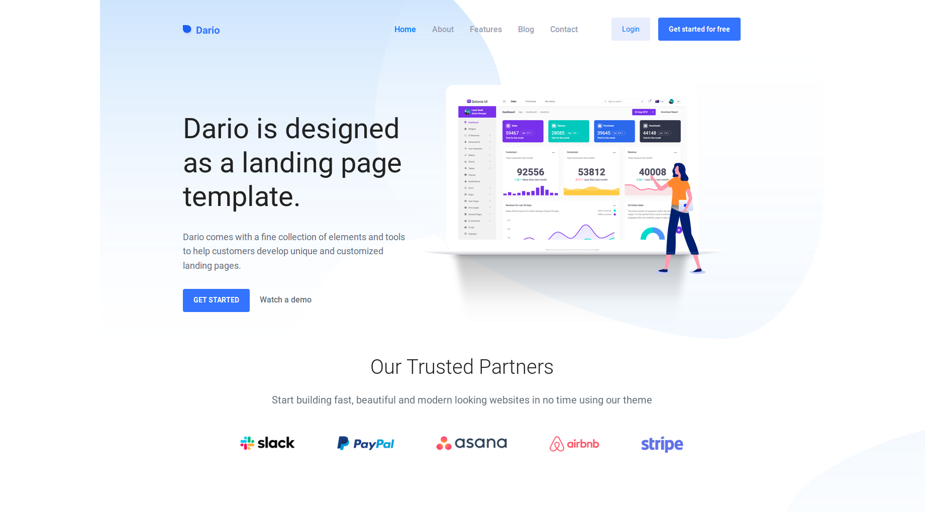 Bootstrap Landing Page Templates You Need to Use