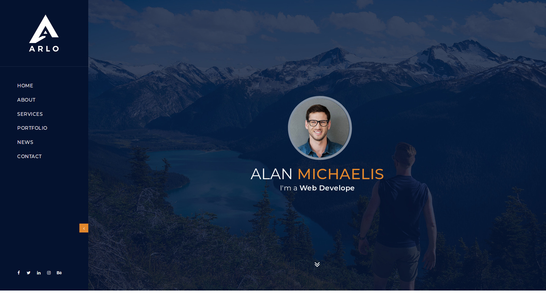 Mind-blowing Creative HTML Website Templates free download