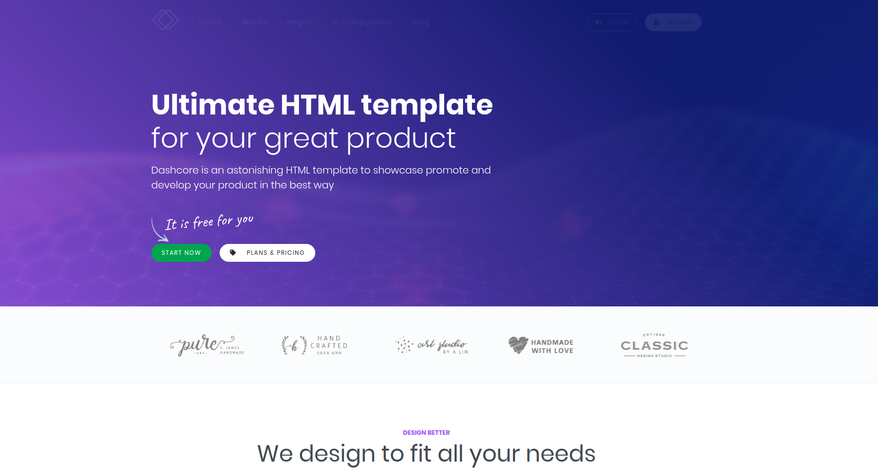 Mind Blowing Creative Html Website Templates Free Download