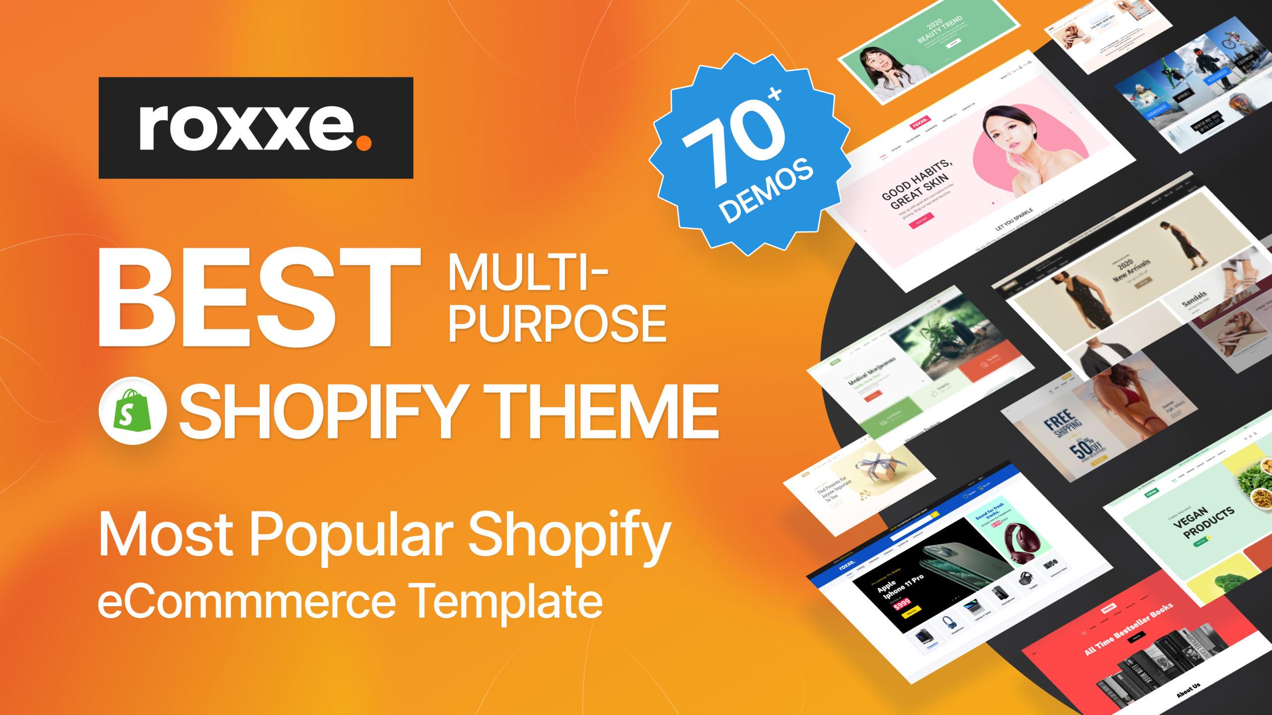 Roxxe Shopify theme