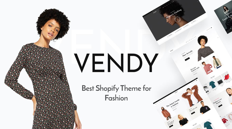 Vendy. Best Shopify Theme for Fashion