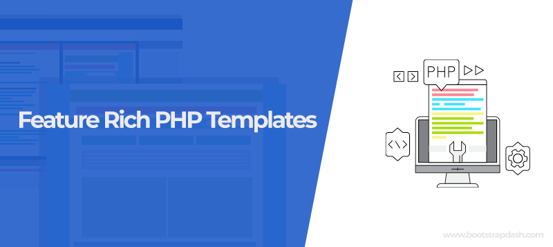 Feature-Rich PHP Templates You Can Download for your New Project
