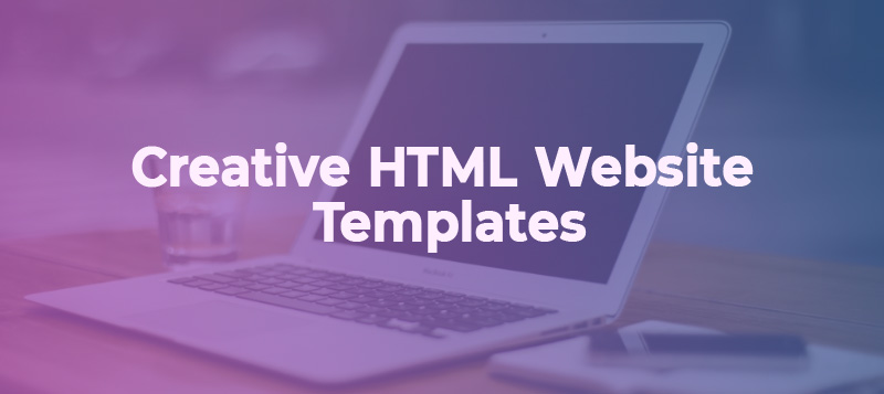 Mind-blowing Creative HTML Website Templates to Try in 2019