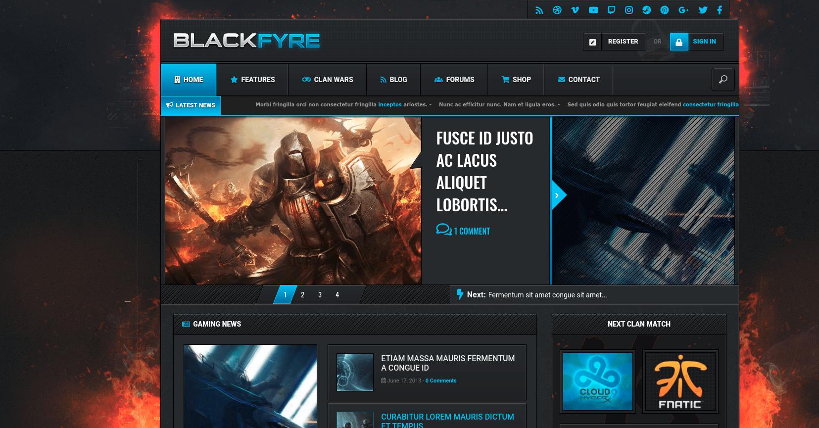 blackfyre website