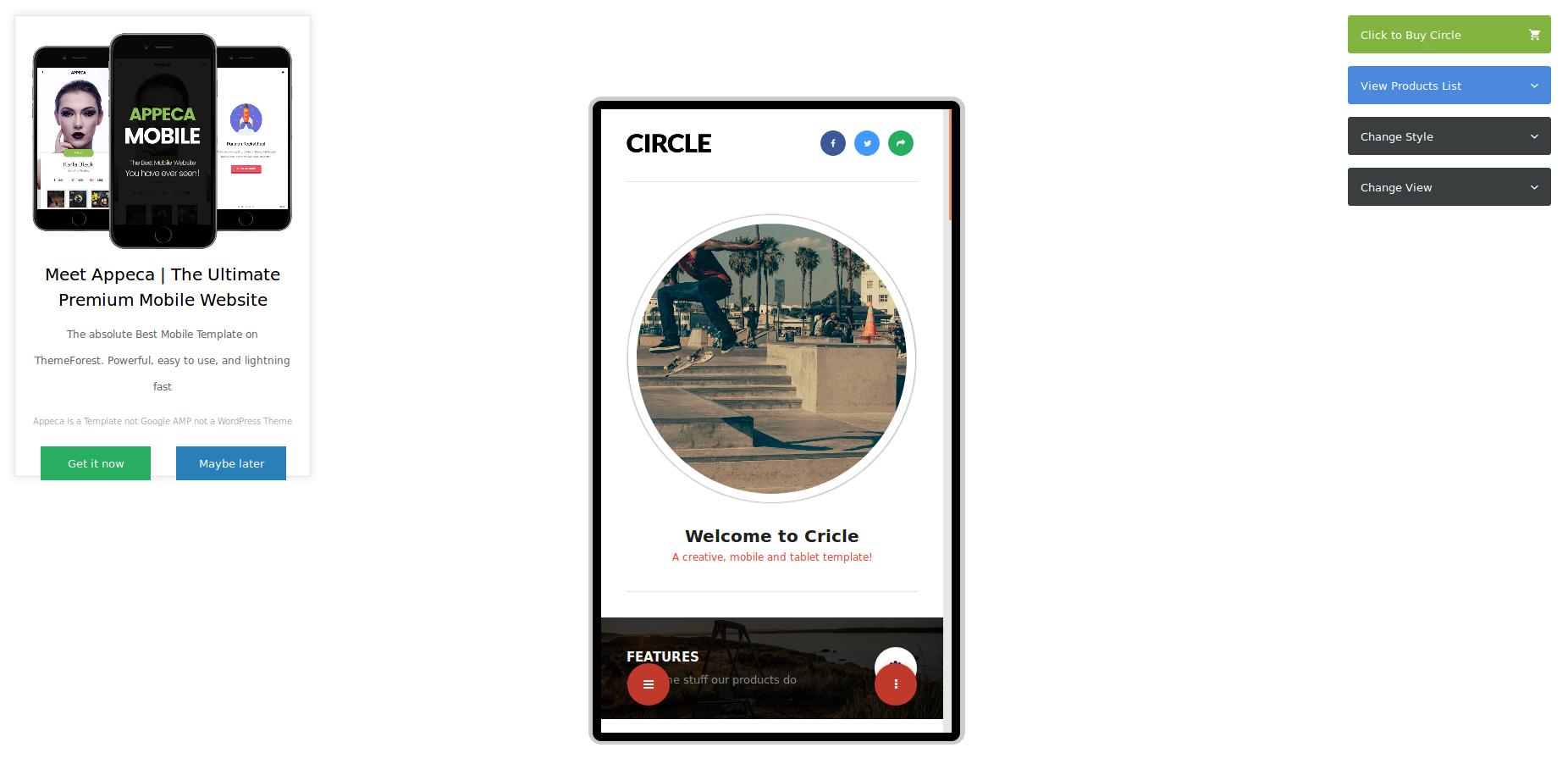 circle mobile