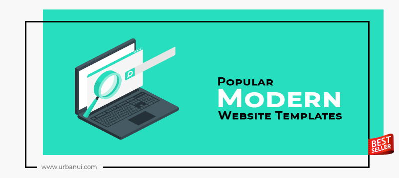 Top 10+ Popular Modern Website Templates 2020