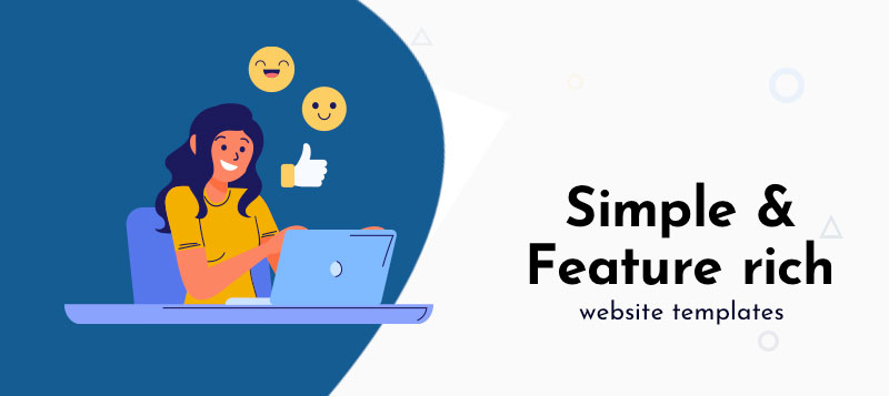 10+ Simple and Feature-rich Website Templates That Beginners Will Love