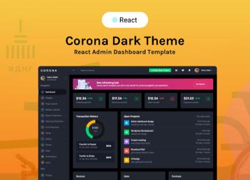 Corona react