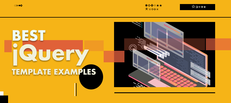 Best jQuery Template Examples To Draw Inspirations From