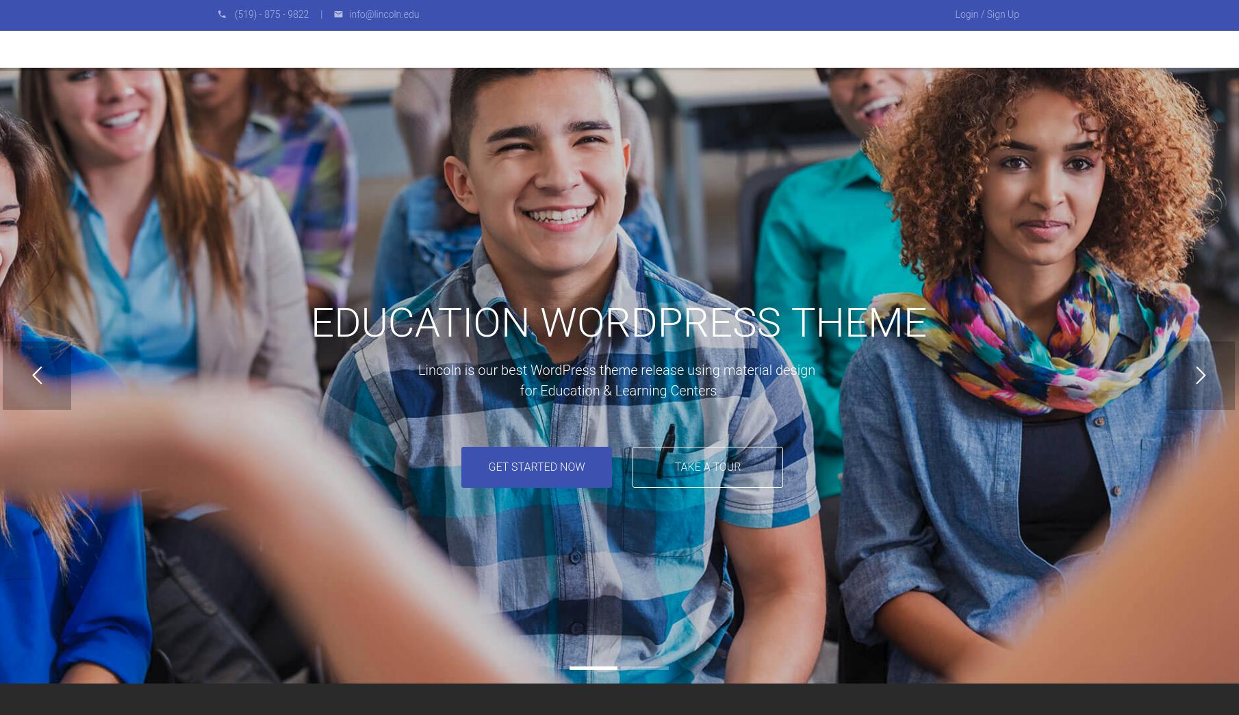 education wordpress theme