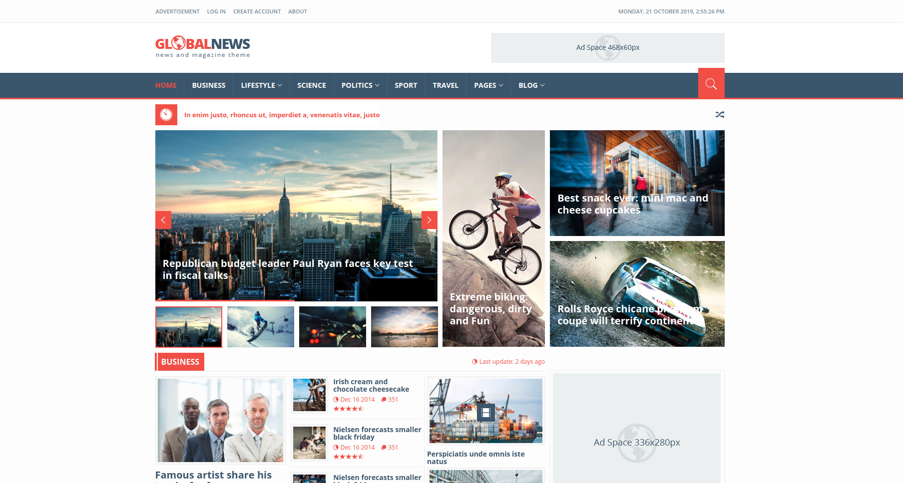 10 Bootstrap News Website Templates To Design Killer News