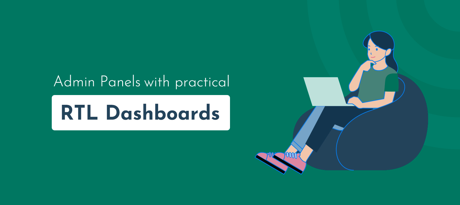 10+ Admin Panel with Practical RTL Dashboards