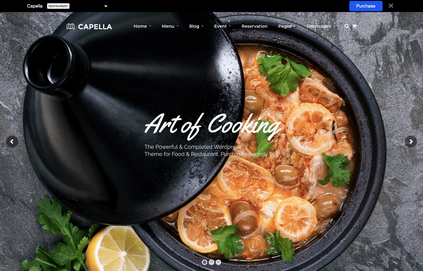 Capella food art