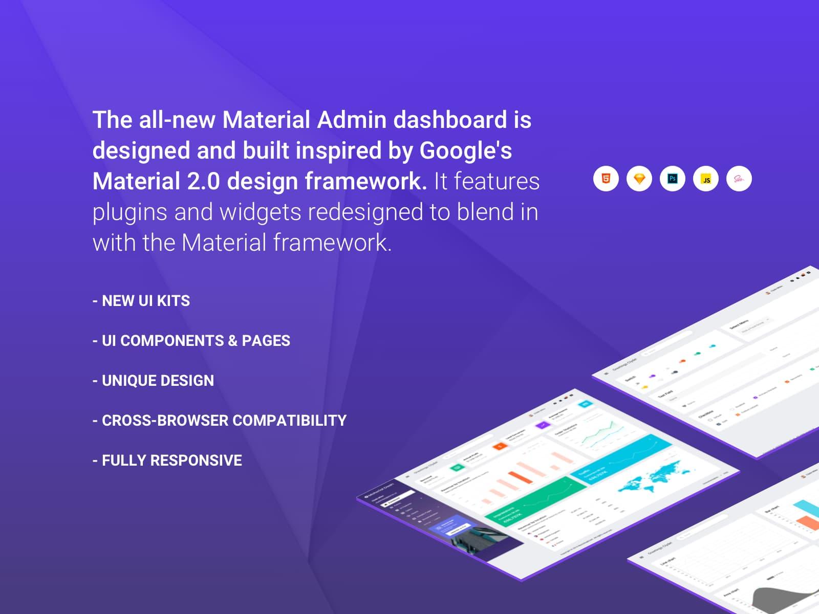 Material Admin