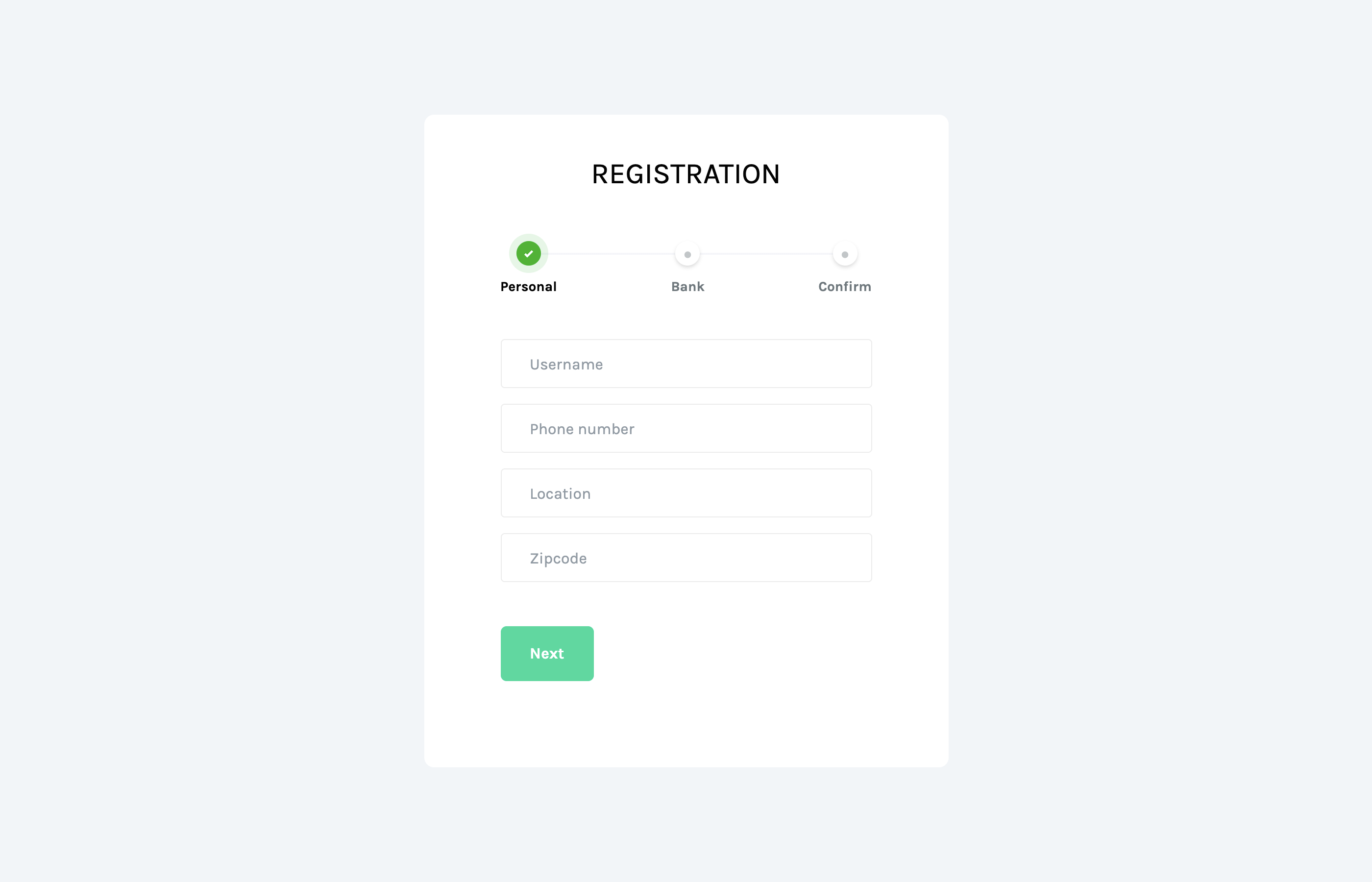 sign up templates wizard