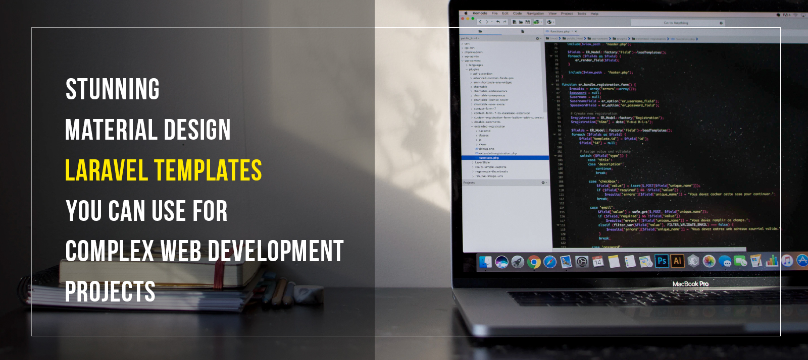 Stunning Material Design Laravel Templates You Can Use For Complex Web Development Projects