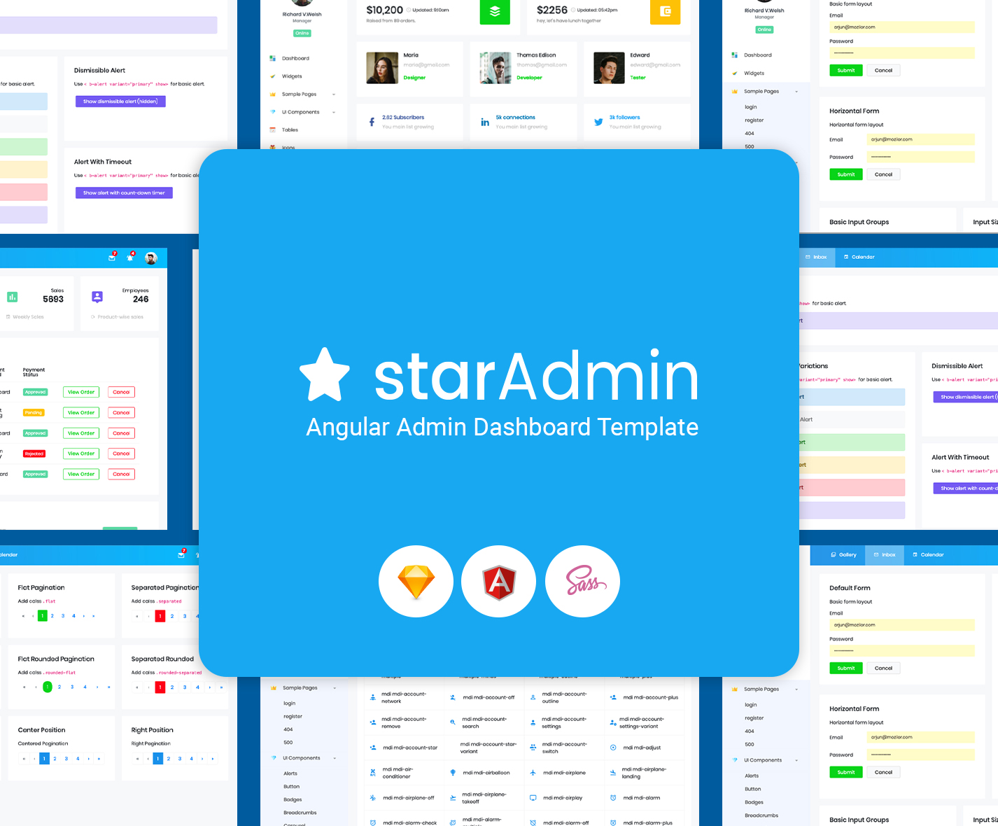 Star Admin Angular