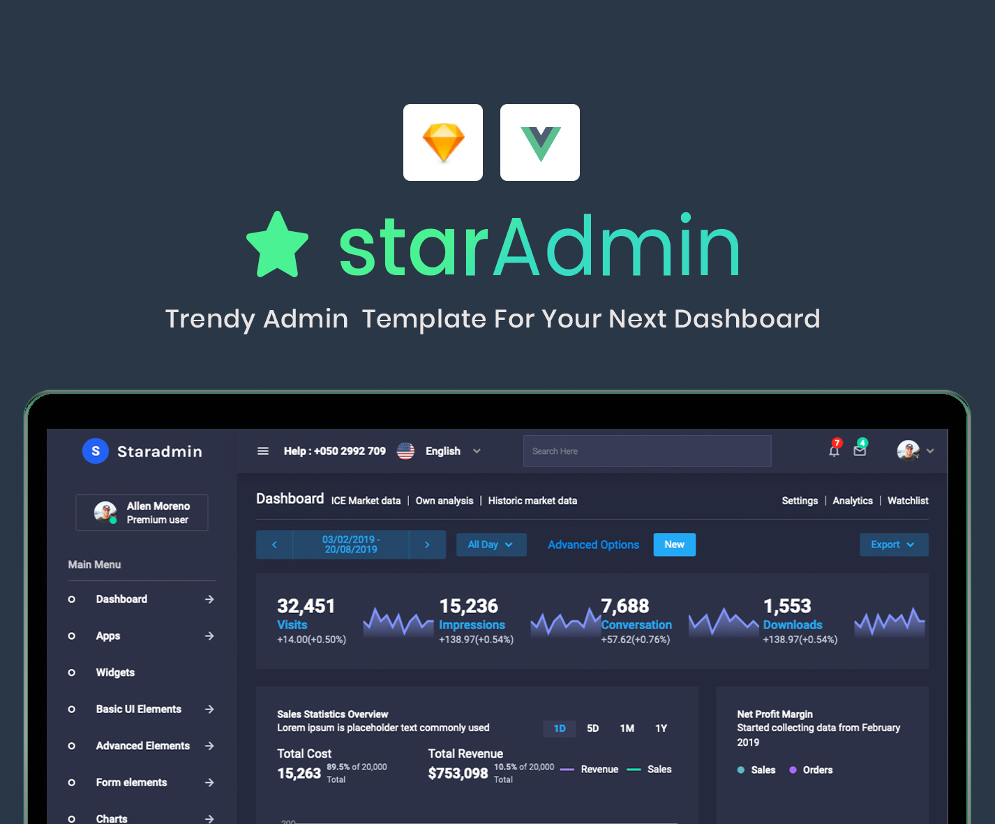 Star Admin Vue